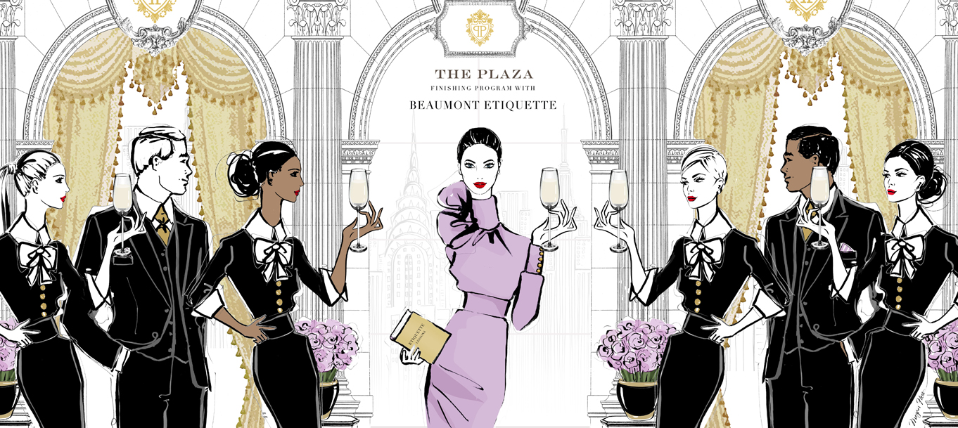 The Plaza Hotel Finishing Program with Beaumont Etiquette